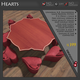 Hearts Game Theme - THEME ONLY - REQUIRES PURCHASE OF COMPATIBLE GAME LICENSE