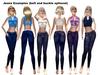 M slacks xst jeans