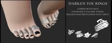 Candy Crunchers - Darken Toe rings - Maitreya HIGH w/HUD