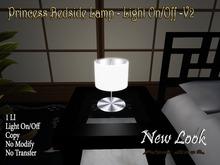 Princess Bedside Lamp - Light On/Off Switch Copy V2