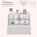 {what next} Patisserie Cake Counter - Full Set