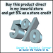 Store credit 5 percent stc