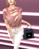 SOULMATE - Roxxy top soft pink