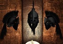 Assassin BlackCaste  Black Helmet Long Plume