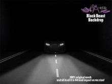 #Cranked# Backdrop Black Beast (Boxed HUD. Wear me)