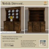by Chiana Oh - Welsh Dresser [Dark] DISCOUNTED