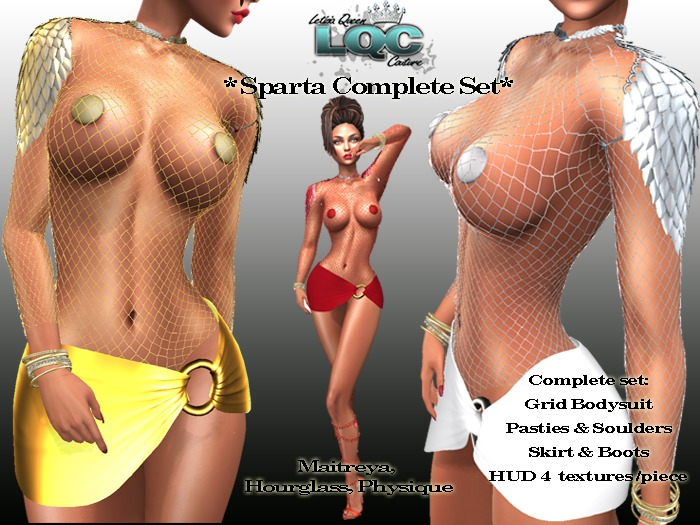 *LQC* Sparta Sexy complete set