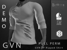 GVN Signature Ripped Shirt Demo