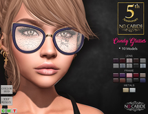No Cabide :: Candy Glasses - HUD 10 Models