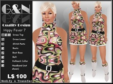 G&N Quality Design Hippy Fever Dress 7