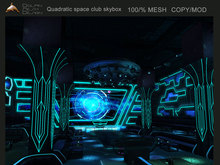 [Dolphin Design] ~the Quadratic space club skybox