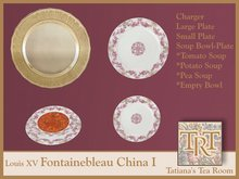 TTR-Louis XV Fontainebleau-China I