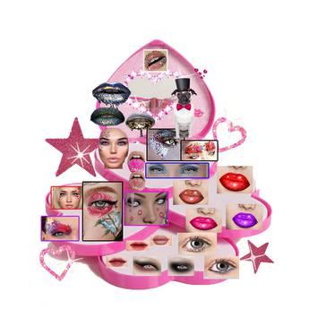 "Catwa Makeup Kit Beautycase ""ART"""