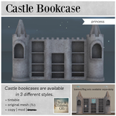 by Chiana Oh - Castle Bookcase [Princess] DISCOUNTED