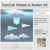 by Chiana Oh - Pennon & Hanging Banners Set [Cinderella] DISCOUNTED
