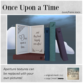 by Chiana Oh - Once Upon a Time -Book/Frame Stack- DISCOUNTED