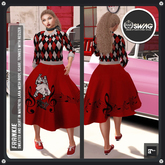 [RnR] Swag Frankie Sock Hop & Grease Outfit (Maitreya Only) Outfit [FEATURED NEW RELEASE]