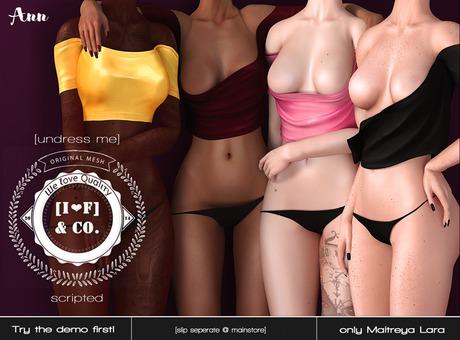 [I<3F] - Ann [undress me]