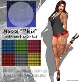 "[After Midnight Fashions] Nessa ""Plaid"" w/ hud"