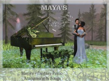 Maya's - Fantasy Piano with Animations & Songs