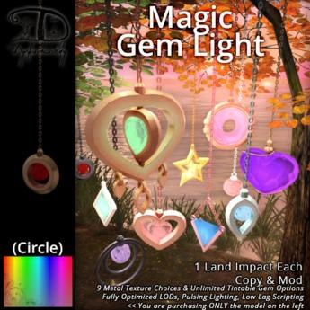 [DDD] Magic Gem Lantern - Circle