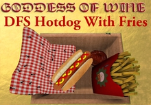 [DFS] Hotdog With Fries * YUMMY * Perfect for picnic & more * Can be PARTY FOOD