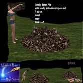 Smelly Bones Pile with animations-Crate