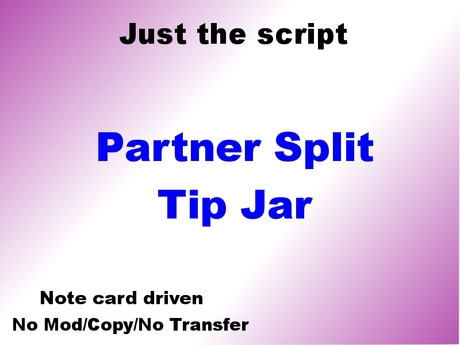 Partners Split Tip Jar - Copy