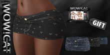 TEXTURA WOW!CAT for STATURA-Mini-skirt-GIFT-Full Perm PACK 22