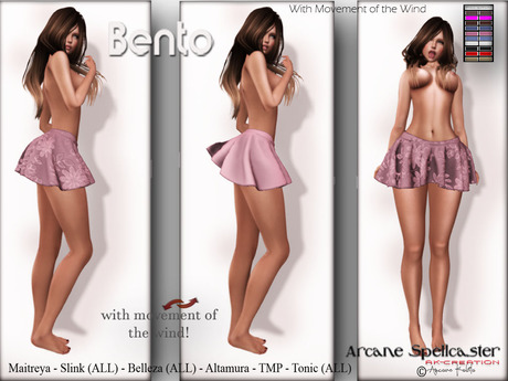 bag DEMO Skirt Lara MOVE W/CH *Arcane Spellcaster* Ak-Creations