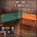 [DDD] Antique Table Set