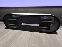 black & white sideboard MESH