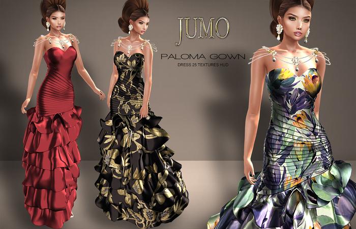 .:JUMO:. Paloma Gown - Maitreya Physique Standard - ADD ME
