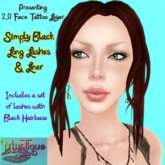 MysTique Simply BLACK 2.0 Eyelashes & Eyeliner Set
