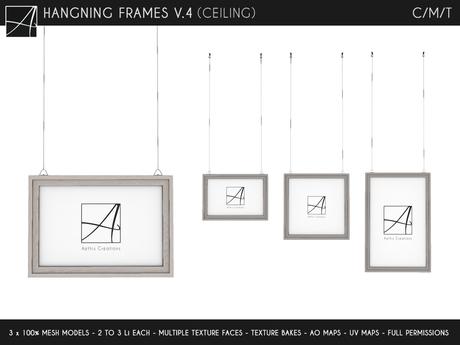 Ac Hanging Frames V 4 Ceiling Mounted