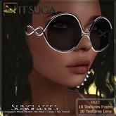 __::NITSUGA::__ Sunglasses #2 FATPACK [HUD 10x10 Textures ]