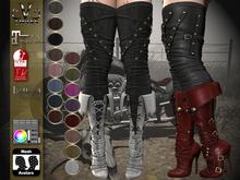 V-Twins Biker Boots - Prophecy Fat Pack 16 colors Maitreya, SLink, Bellza (HUD System