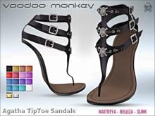 [VM] Agatha TipToe Sandals FATPACK