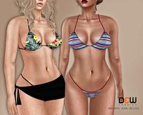 """DEW"" Pamela bikini set ➡  MAITREYA, BELLEZA, SLINK"