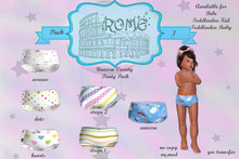 >rOMe< Unicorn Variety Panty Pack 1 ~ Bebe