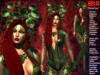 **POISON IVY THEME COSTUME COMPLET OUTFIT **