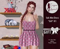 [EN] Suki Mini Dress *Gift* #1 { ADD ME }