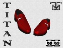 *TM* Bruno Red Formal Shoes