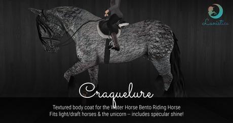 Lunistice: Craquelure - Water Horse Body Coat