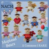 NACH Mophead Bear I Love You!