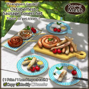 *FG* Oktoberfest {Sausage Lovers Set}