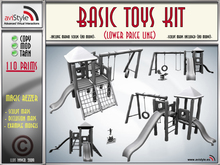 Sculpt Toys Kit by **aVISTYLe** (Low Price Line) - for FULL PERM !!