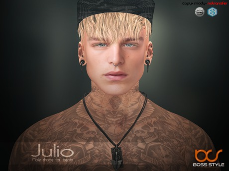 .::Boss Style::.Shape Julio for bento - Catwa Victor
