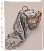 dust bunny . dreamy outing . blanket basket
