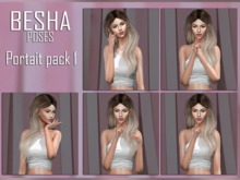 BESHA Poses: Portait pack 1 (bento)